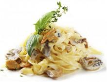 Тальятелле с говядиной и белыми грибами